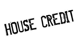 House Credit rubber stamp Stock Photos