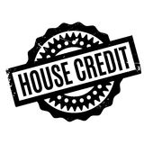House Credit rubber stamp Stock Images