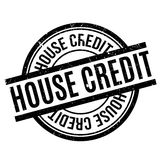 House Credit rubber stamp Stock Photo