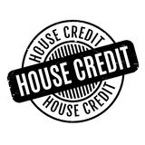 House Credit rubber stamp Royalty Free Stock Images