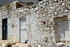 House on Crete. Old house on the isle of Crete Stock Image