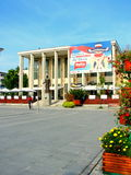 House of culture �Vasile Alecsandri� Bacau Stock Photos