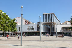 House of Culture in Lloret de Mar, Spain Royalty Free Stock Images