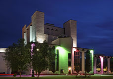 House of culture in Maladzyechna. Belarus Royalty Free Stock Photos
