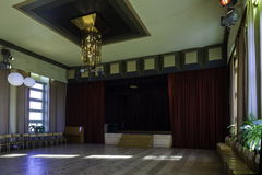 House of Culture. Socialist period, culture house interior Stock Photography