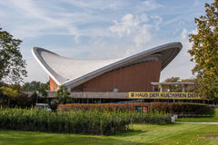 House of the Cultures of the World - Berlin. Haus der Kulturen der Welt (House of the Cultures of the World) in Berlin is Germany Royalty Free Stock Images