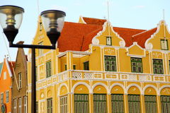 House on Curacao. House in Willemstad on Curacao royalty free stock photos