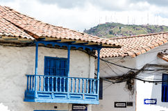 House in Cusco Royalty Free Stock Image