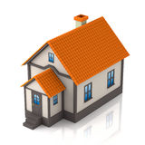 House 3d illustration Royalty Free Stock Photo