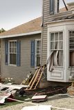 House damaged by disaster Stock Image