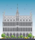 House de rey Bruselas, Bélgica Foto de archivo libre de regalías