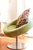 House decoration details green sofa Royalty Free Stock Photography