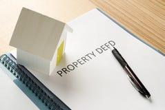 House deed Stock Image
