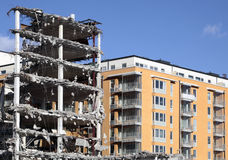 House demolition Stock Images