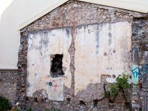 House Demolition Royalty Free Stock Photography