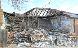 House Demolition Royalty Free Stock Images