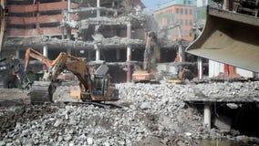 House demolition stock video