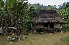 house den traditionella vietnamesen Arkivfoto