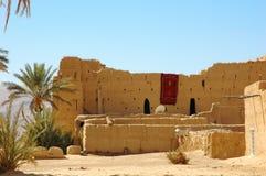 House in the desert Stock Photo