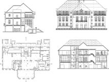 House design vector illustration