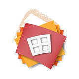 House design concept, symbol, icon Royalty Free Stock Photo