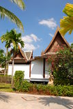 House design and garden in thailand Stock Photo