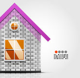 House design template Stock Photo