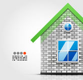 House design template Royalty Free Stock Images