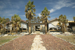 House destroyed by Hurricane Ivan Royalty Free Stock Photos