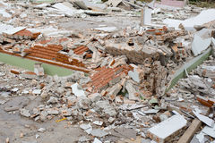 House Destruction Royalty Free Stock Photos