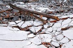 House destruction Stock Photography