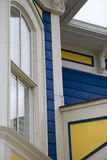 House detail. Architectural detail of a Victorian house with nice paint scheme Royalty Free Stock Photography