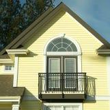 House Detail Yellow Siding Royalty Free Stock Photo