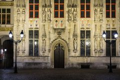 House details in Bruges, Belgium Stock Photography