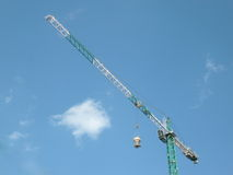 House develop with crane Royalty Free Stock Photo