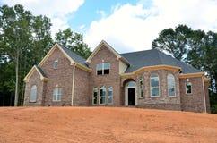 New home construction, Bogart, Georgia Royalty Free Stock Photos
