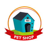 house dog pet shop Royalty Free Stock Photography