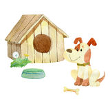 House for dogs Stock Image