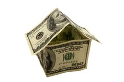 House of the dollar Stock Photo