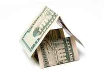 House of dollar Royalty Free Stock Photography