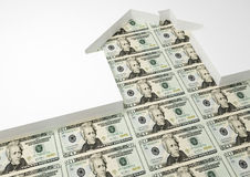 House dollar Stock Photography