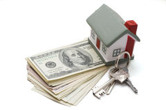 House with dollar Stock Photo
