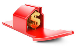 House with dollar sign and rising arrow Royalty Free Stock Image