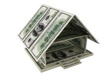 House of dollars Stock Images