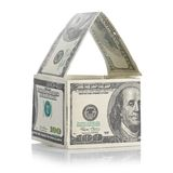 House of dollars Royalty Free Stock Photos