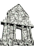 House of dollars Stock Photos