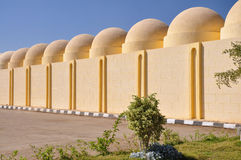 House with a domed roof. Building with a dome roof in Egypt stock images