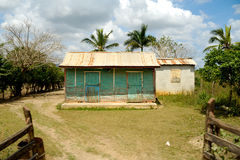 House from Dominican Republic. Royalty Free Stock Photography