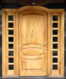 House door Stock Image