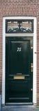 House Door in Amsterdam Royalty Free Stock Photos